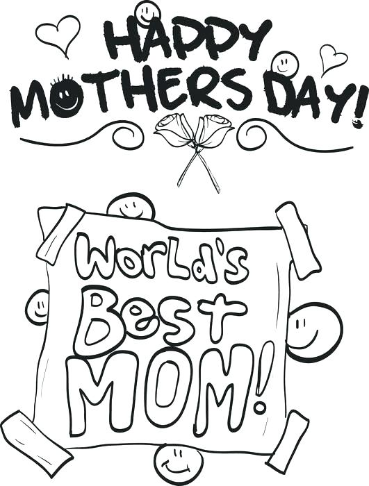 1 Mom Coloring Pages