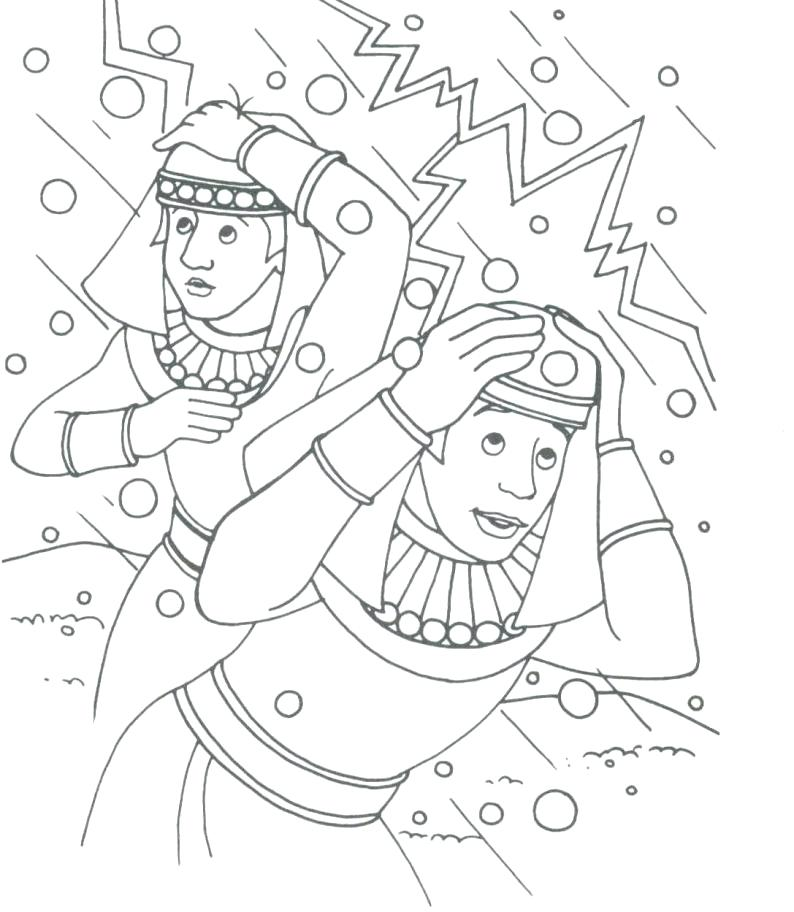 794x912 Plagues Of Egypt Colouring Pages Moses Plagues Coloring Pages