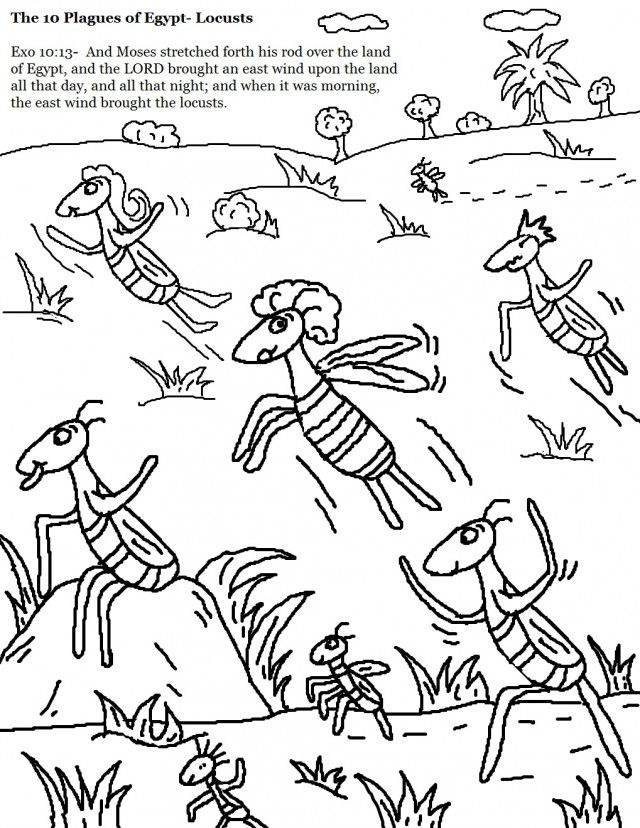 640x828 Coloring Pages Plagues Of Egypt God Online Coloring Pages