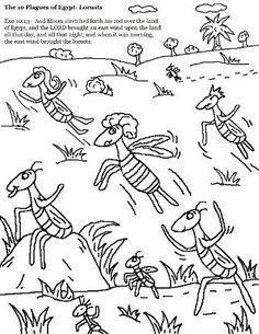 236x305 Plagues The Plagues Of Egypt Coloring Pages Vbs