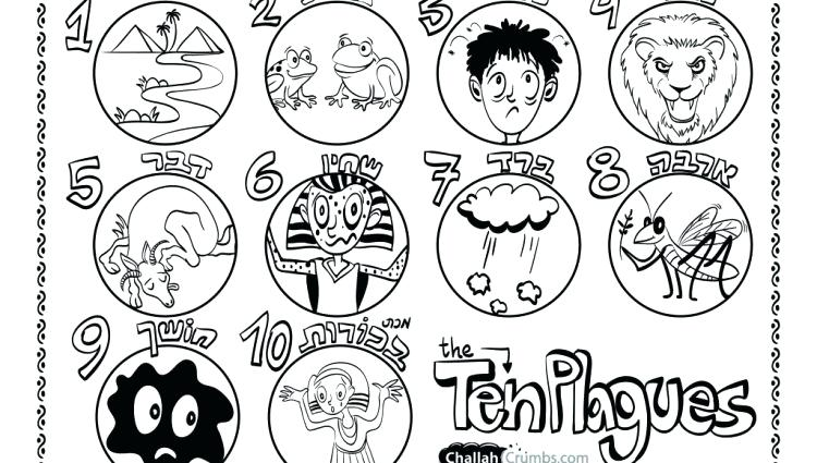 750x425 Plagues Of Egypt Coloring Pages Plagues Of Egypt Coloring