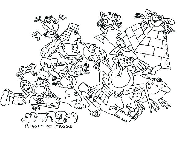 600x465 Coloring Astonishing Plagues Of Coloring Pages Plagues Ten Plagues