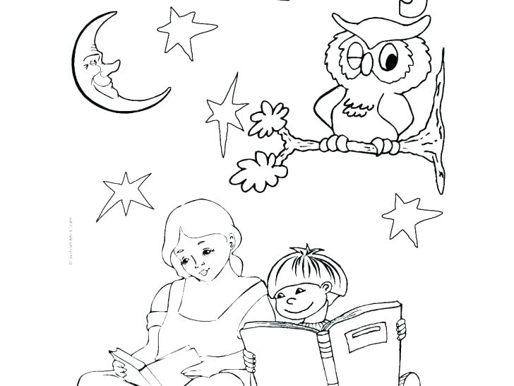 728x546 Coloring Pages To Print Library Coloring Pages Medium Size