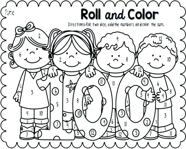 736x588 Day Coloring Pages Kindergarten Day Of School