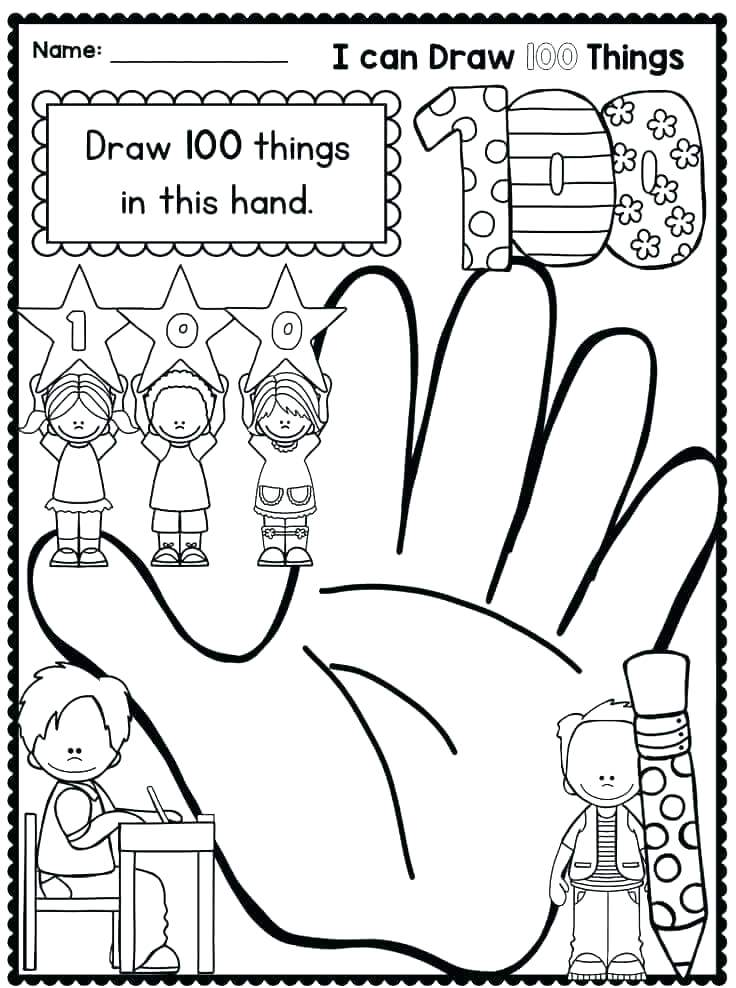 736x988 Day Of School Coloring Pages