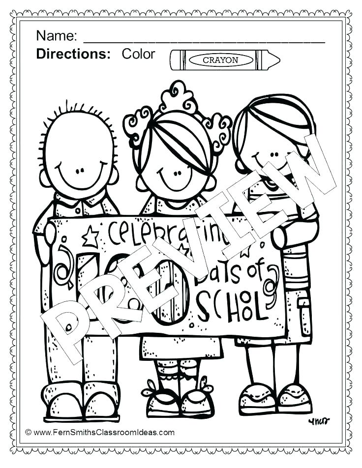 736x952 Trend Days Of School Coloring Pages Fee Day Printable Best Trend