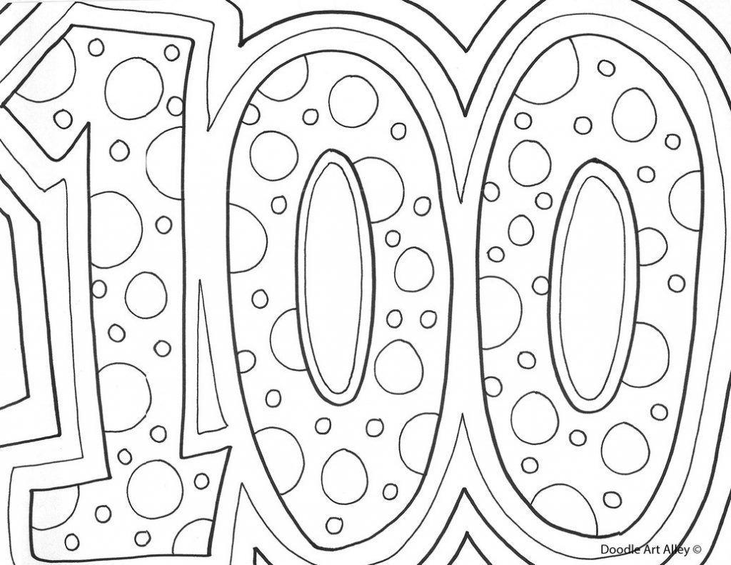 1024x791 Best Hundred Dollar Bill Coloring Page Alltoys For Popular