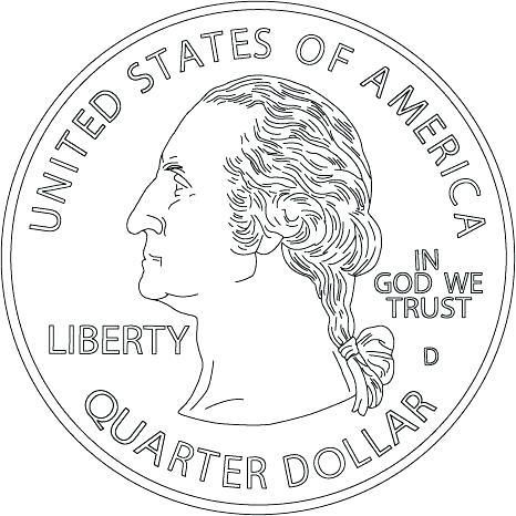 466x466 Dollar Bill Coloring Page X Best Coloring Pages For Kidscom
