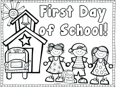 400x300 Day Coloring Pages Day Coloring Pages Free Day Of School