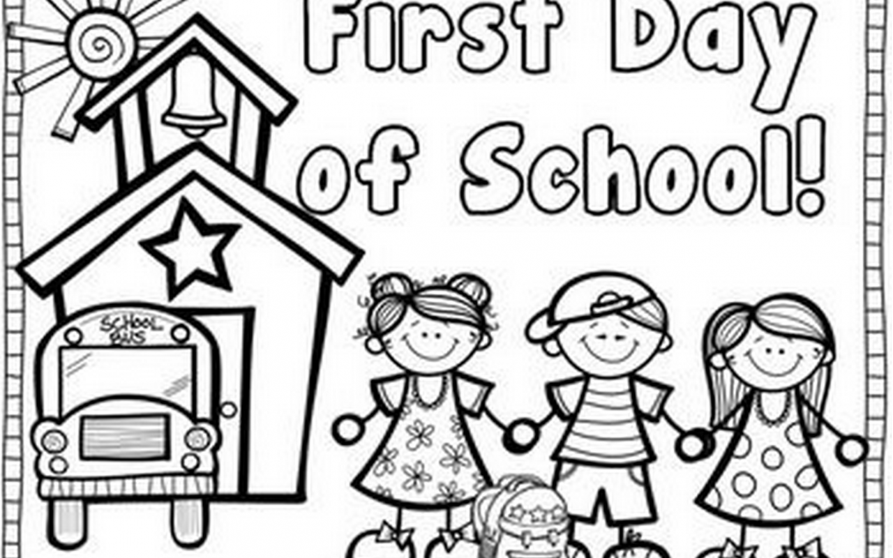 1280x800 Day Of School Yay Coloring Page For Kids Pages Free