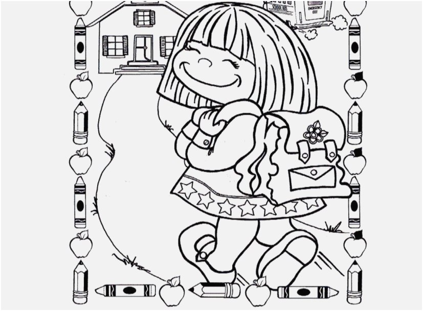 827x609 The Right Design Day Of School Coloring Pages Very Good