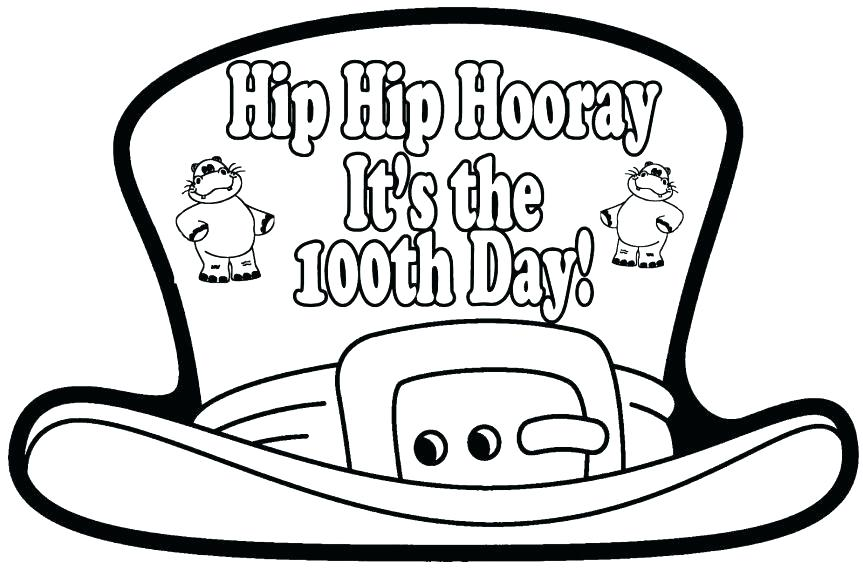 100th Day Of School Coloring Pages Free At Getdrawings Com Free