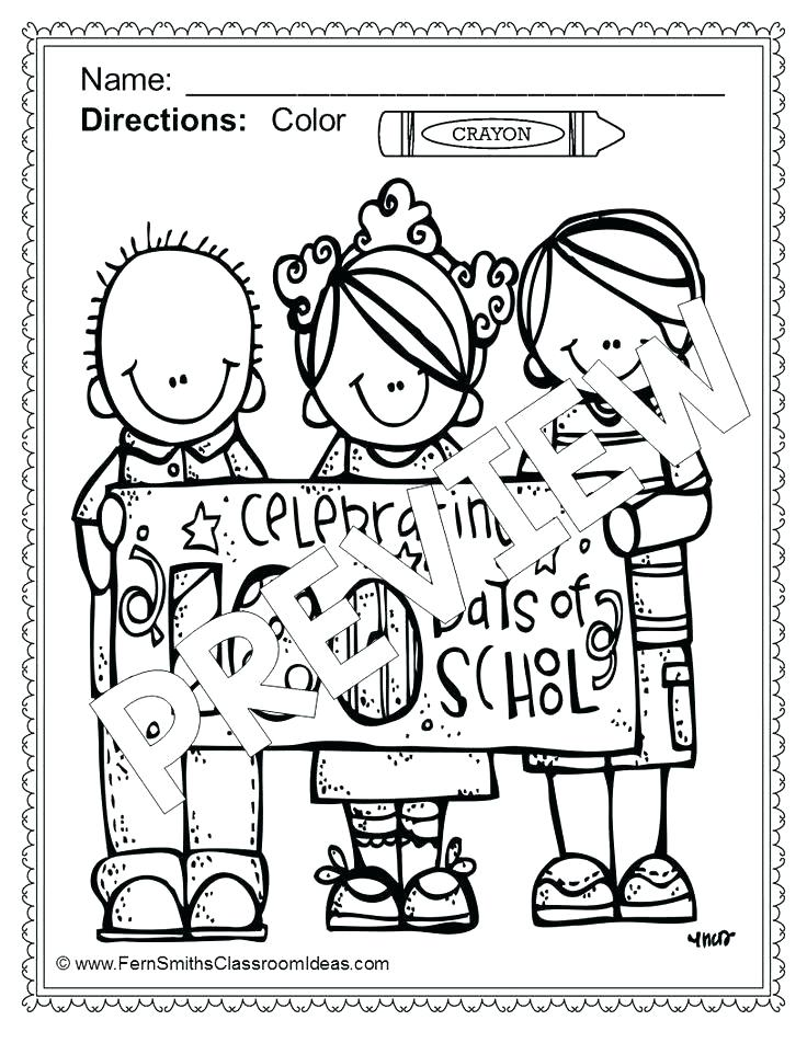 736x952 Day Of School Coloring Pages Day Of School Printable Coloring