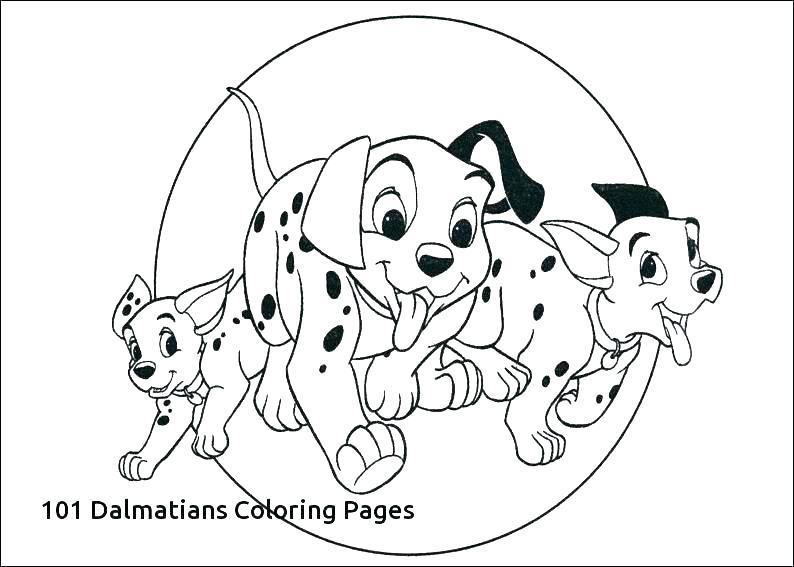 101 Dalmatians Coloring Pages At Getdrawings Com