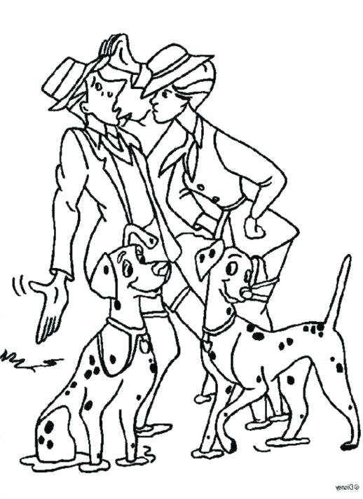 518x713 Dalmation Coloring Pages Dalmatians Coloring Pages First Meet