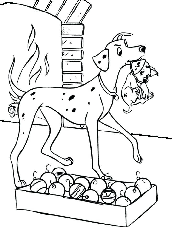 718x957 Dalmation Coloring Pages Pages Dalmatians Coloring Pages