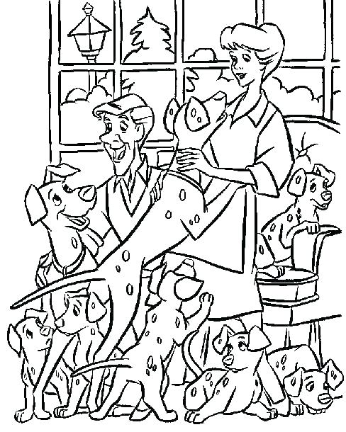 488x610 Dalmations Coloring Pages Coloring Page Free Download Coloring