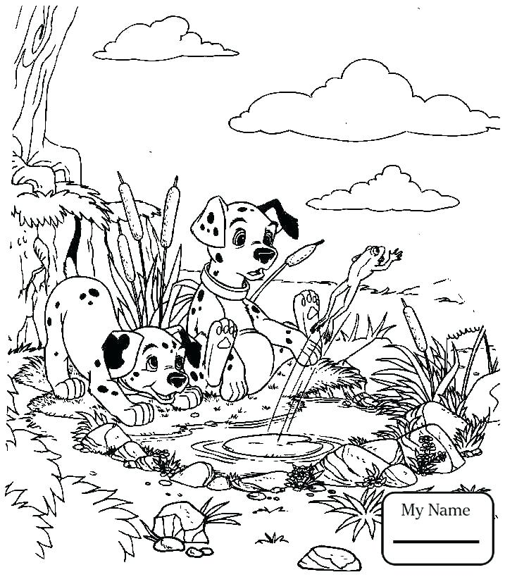 717x819 Dalmations Coloring Pages Dalmatians Pictures To Print