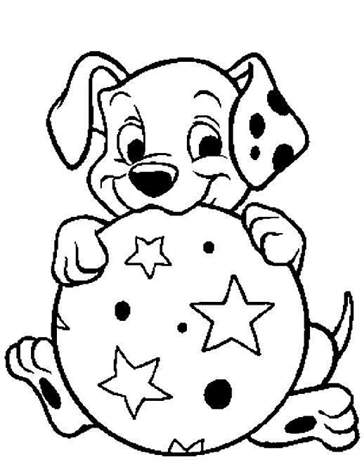518x678 Dalmation Coloring Pages Printable Dalmatians Puppies