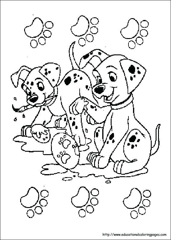 567x794 Dalmation Coloring Pages Dalmatian Coloring Sheets