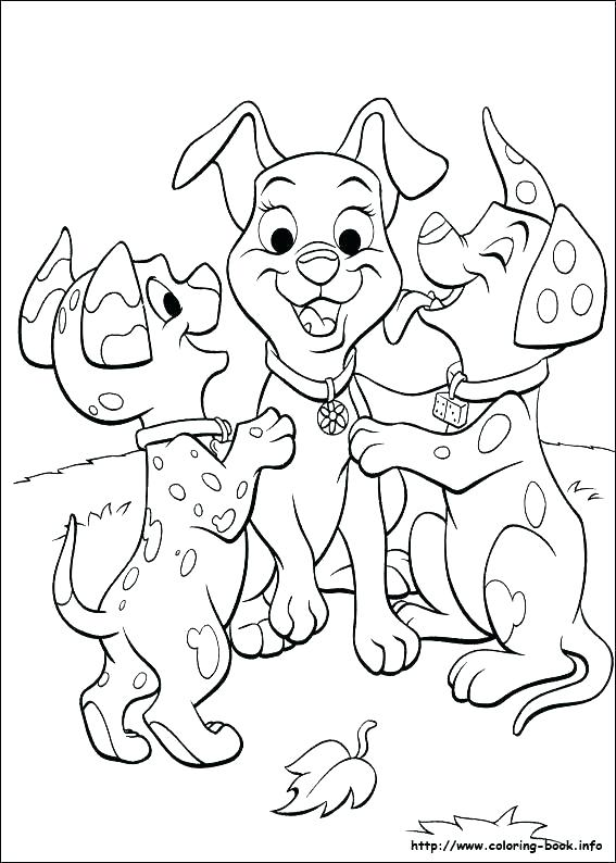 567x794 Dalmation Coloring Pages Dalmatians Coloring Pages Lucky