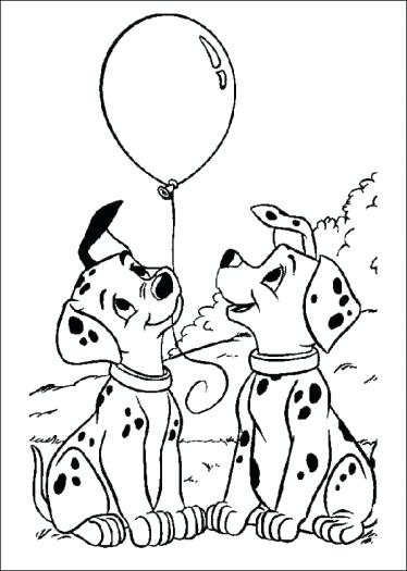374x525 Dalmation Coloring Pages Coloring Pages Printable