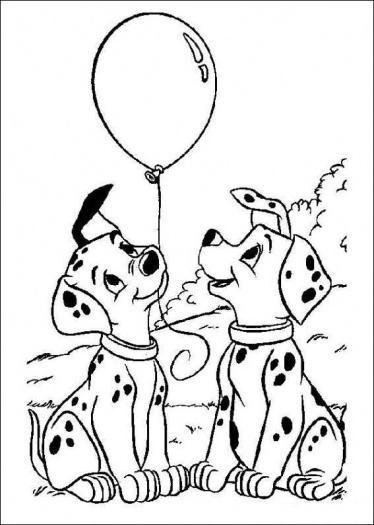 374x525 Dalmation Coloring Pages Printable Coloring Pages