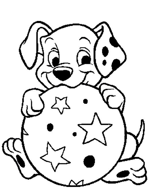 518x678 Dalmatian Puppy Coloring Pages