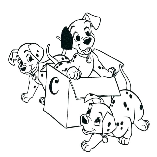 633x633 Dalmation Coloring Page Imprints Time Coloring Page Time
