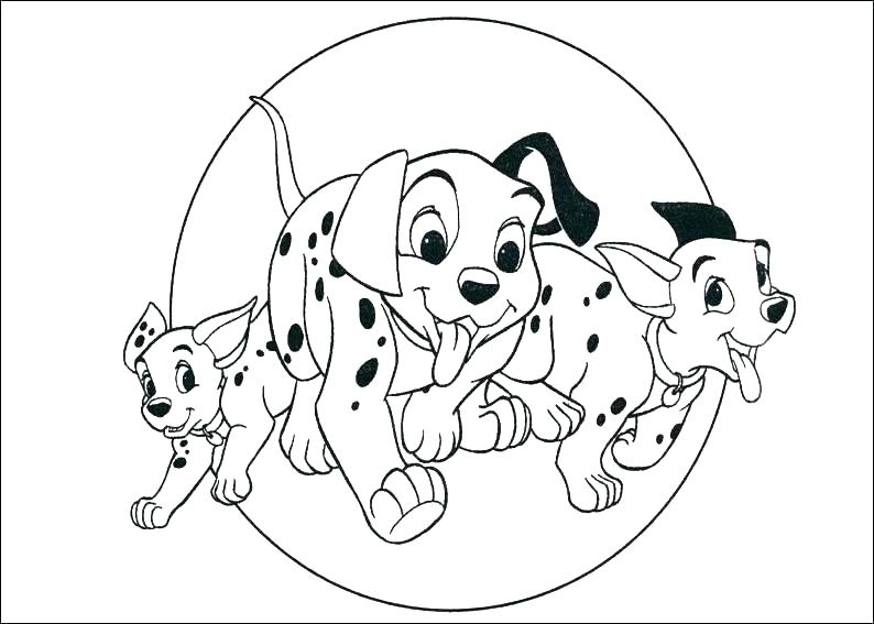 794x567 Dalmation Coloring Pages S S S S Dalmation Coloring Pages