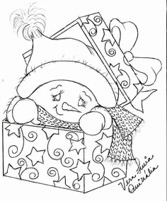 236x284 Free Printable Coloring Pages For Adults Christmas Coloring Book