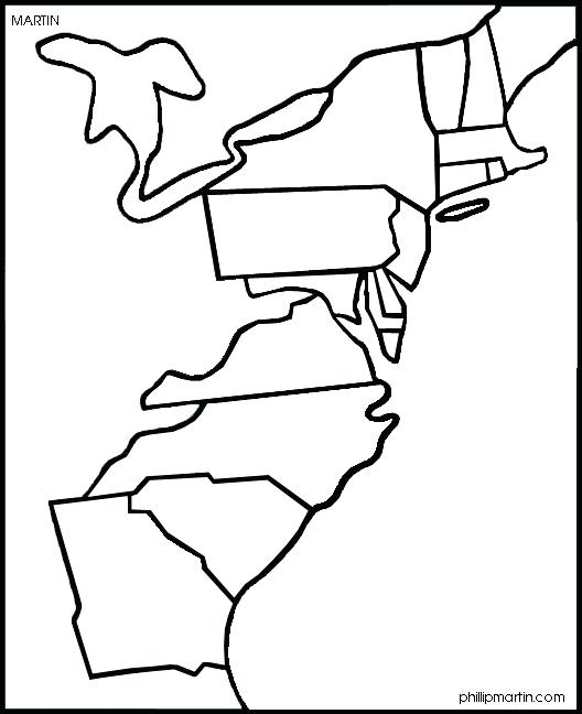 528x648 Colonies Coloring Pages Original Colonies Map Sketch Coloring