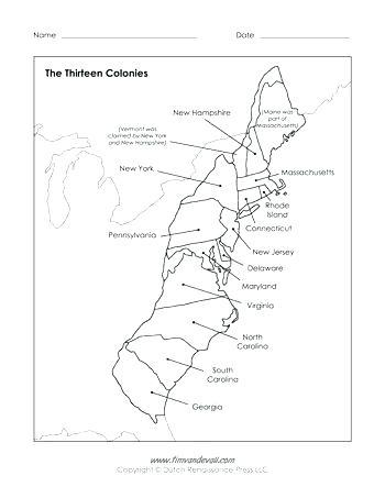350x453 Original Thirteen Colonies List Printable Free Coloring