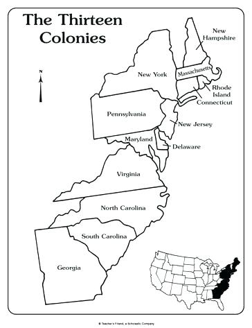 image regarding 13 Colonies Quiz Printable called 13 Colonies Coloring Website page at  Free of charge for