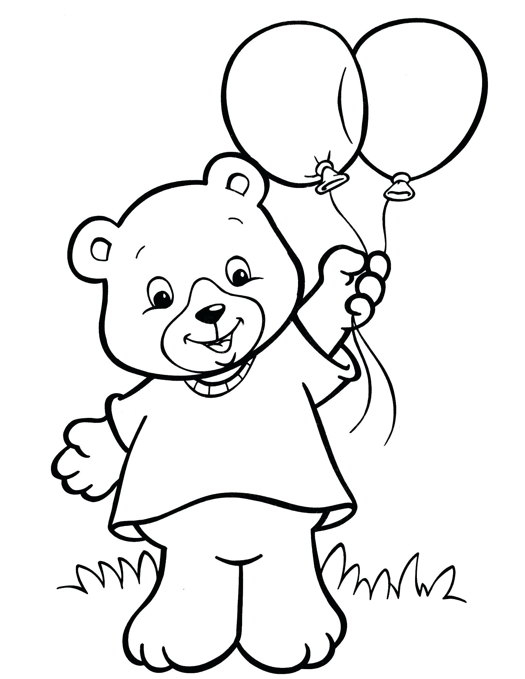 1700x2200 Coloring Pages For Two Year Olds Colouring Three Old X