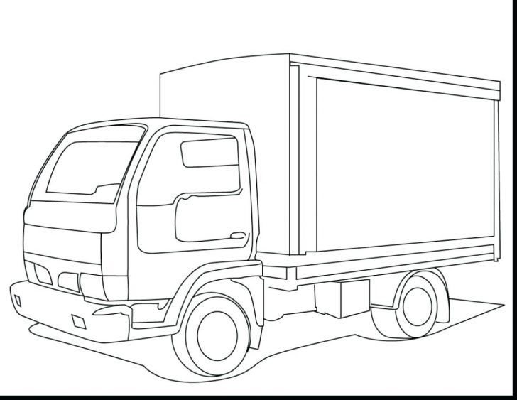 18 Wheeler Truck Coloring Pages At Getdrawings Com Free