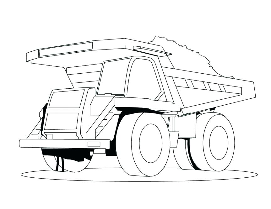 863x667 Fresh Water Semi Truck Coloring Page Download Print Online Fresh