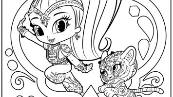 355x200 Coloring Pages Free Coloring For Kids