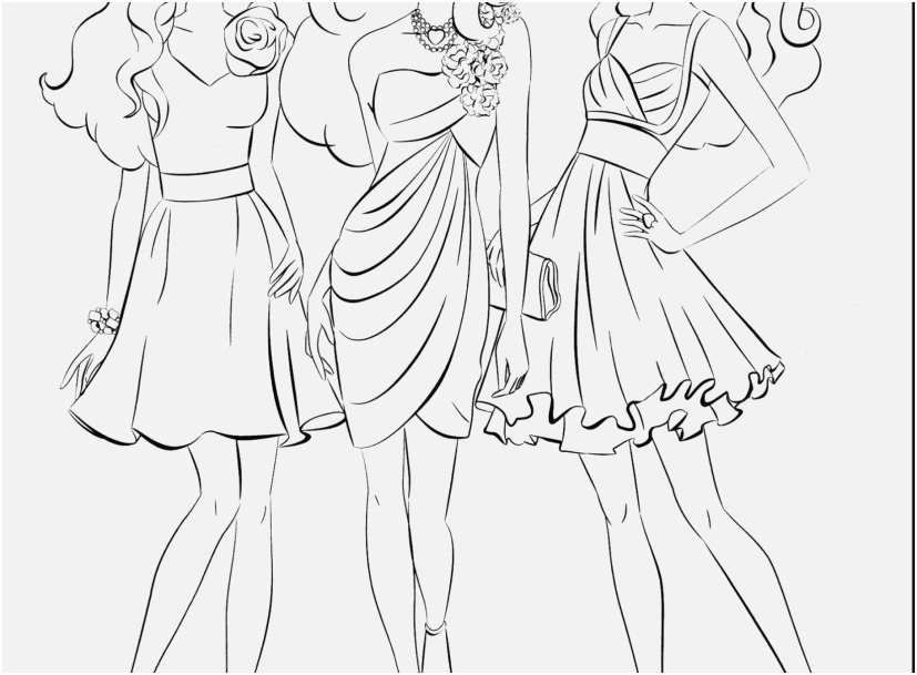 827x609 Fashion Coloring Pages Photographs Fashion Coloring Pages To Print