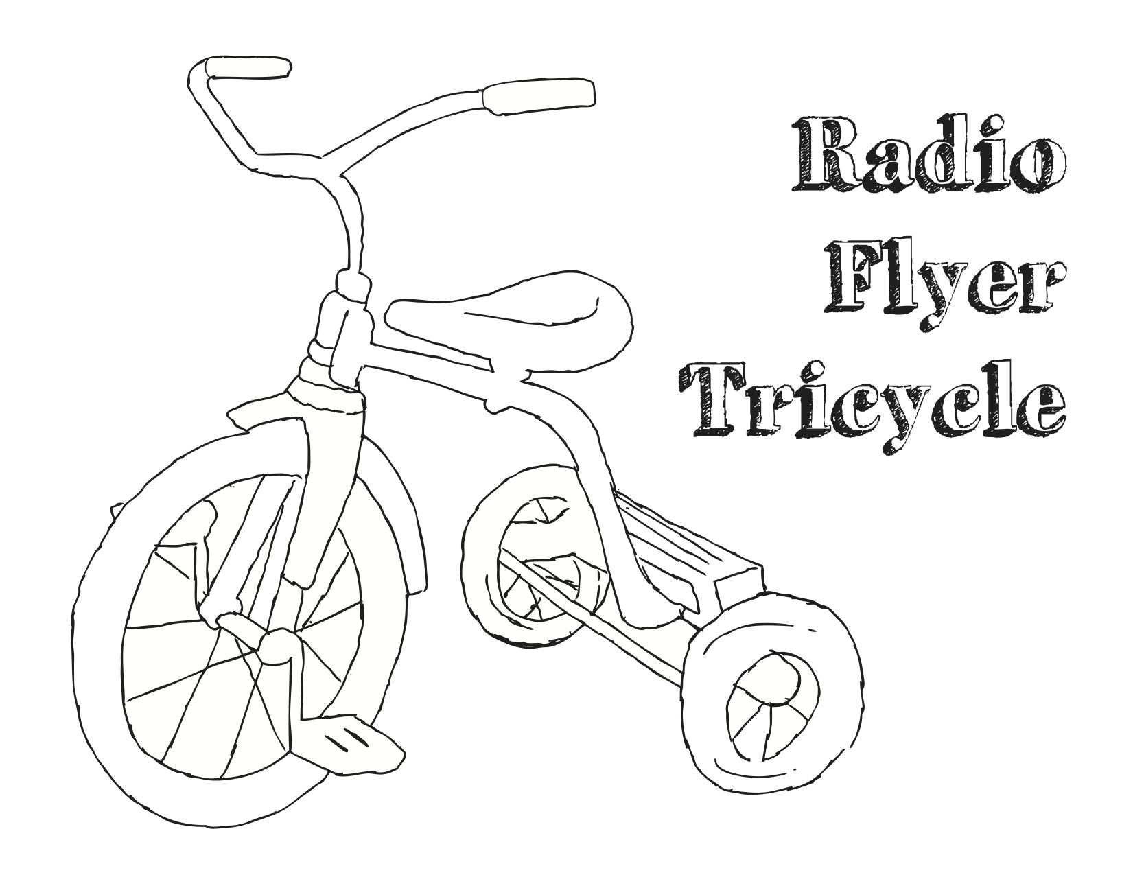 1651x1275 Old Bicycle Coloring Pages Vintage Wallpaper Pattern On Brown