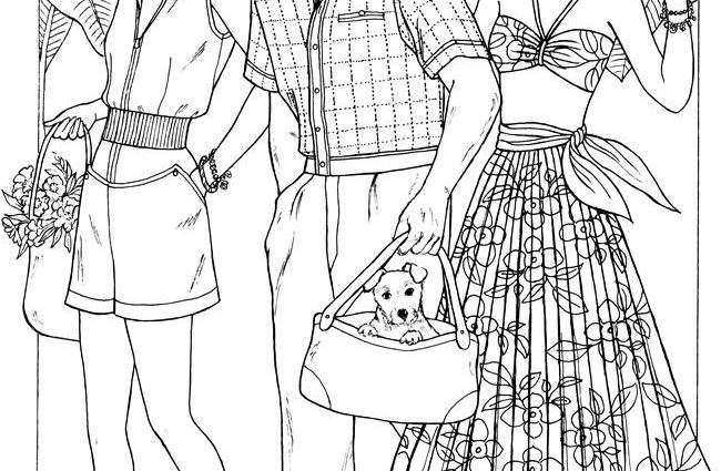 650x425 Fashion Coloring Pages Best Adult Coloring Pages Images