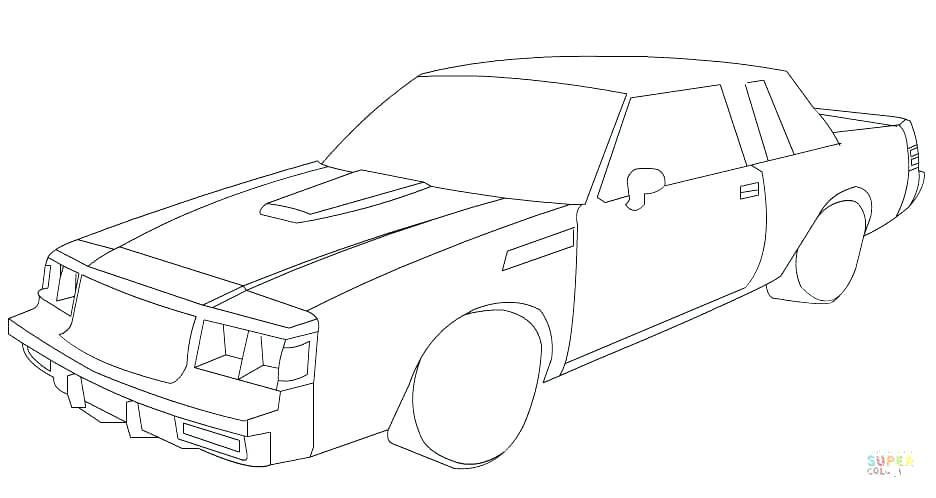 1969 Dodge Charger Coloring Pages at GetDrawings.com | Free for ...