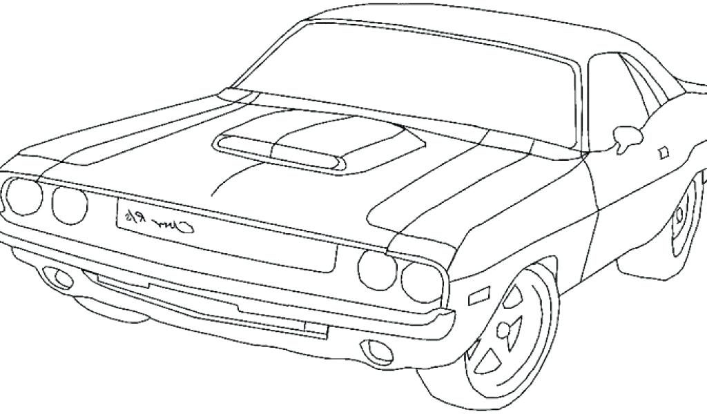 Dodge Hemi Charger 1968 Coloring Page | 600x1024