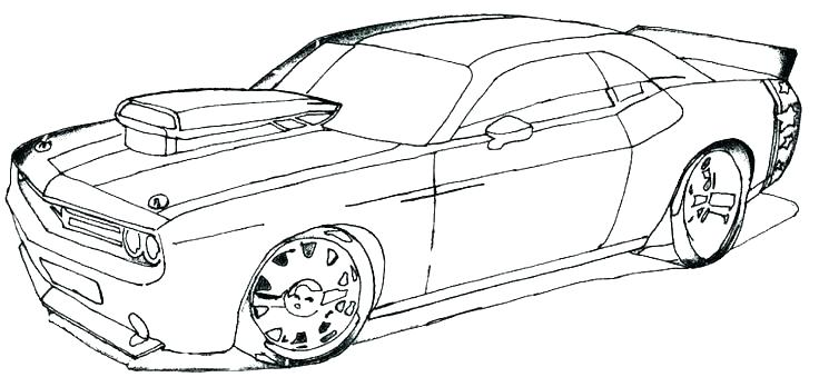1970 Dodge Charger Coloring Pages At Getdrawings Free Download