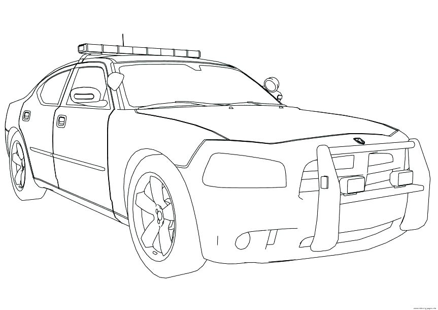 863x610 Dodge Challenger Coloring Pages Dodge Charger Coloring Page Dodge