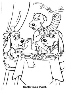 236x317 Poundpuppies Coloring Page Coloring Daycare