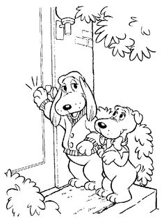 236x317 Poundpuppies Coloring Page Coloring Printables