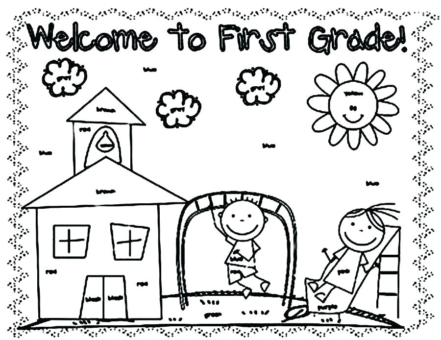 900x694 First Day Of School Coloring Page Day Of School Coloring Pages