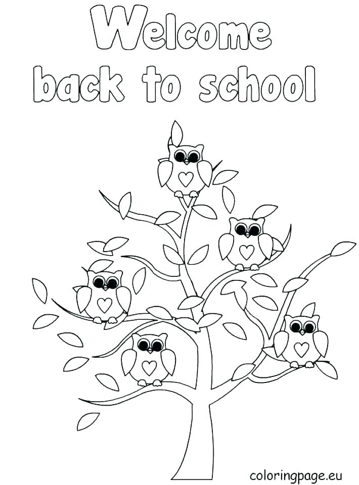 710x960 First Day Of School Coloring Pages For Kindergarten Free Printable