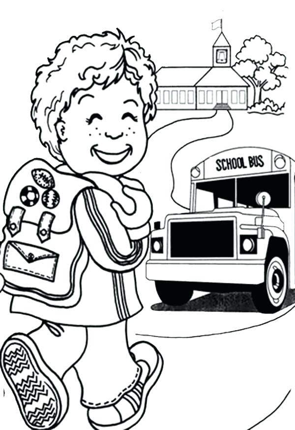 600x874 Kids School Printable Wonderful Back To School Coloring Pages